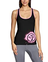 Zumba Fitness Outta-My-Space Racerback (Small, Black)