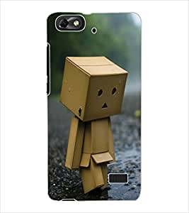 ColourCraft Funny Image Design Back Case Cover for HUAWEI G PLAY MINI