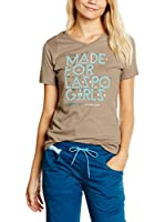 La Sportiva Camiseta Manga Corta For Laspo Girls W (Taupe)