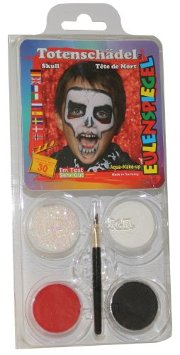 Design-A-Face Face Paint Pack - Skull