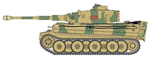 1/35 WW.II ドイツ軍 重戦車 ティーガーI 第504重戦車大隊 ″131″ チュニジア