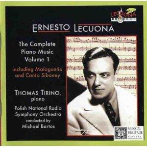 Ernesto Lecuona: The Complete Piano Music, Volume 1