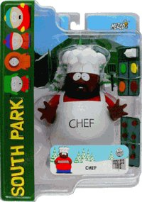 Picture of Mezco South Park Chef Action Figure (B000A6KMRA) (Mezco Action Figures)