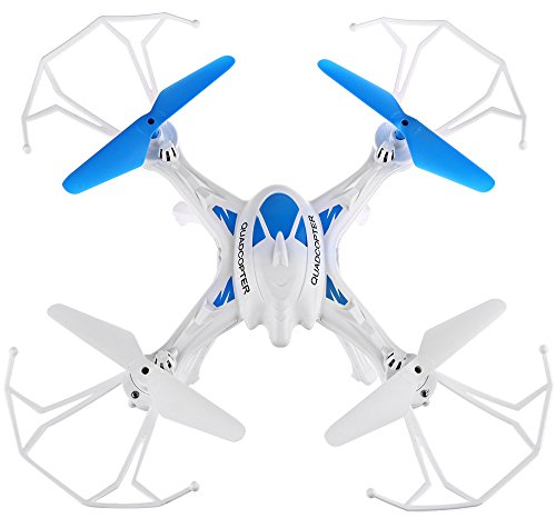 Catterpillar 6 Channel LH-X16 Remote Controlled 6 Axis 2.4 Ghz Quadcopter with Built-in Gyro & One Key Return with Headless Mode