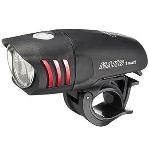 NiteRider Mako LED Headlight, 1-watt