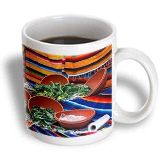 Danita Delimont - Kymri Wilt - Markets - Usa, California, Los Angeles. Farmers Market Greens. - 11Oz Mug (Mug_191270_1)