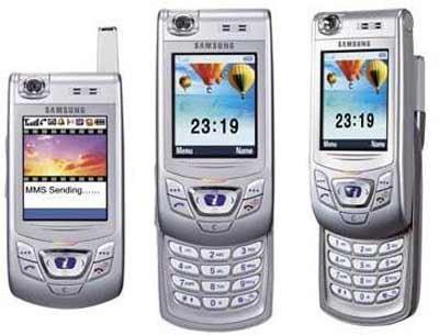 Samsung SGH D410 D 410 Slider-Handy Ohne Simlock/Vertrag In Whitebox