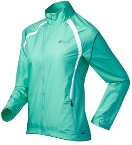 Odlo Women's Jacket Choice Green Small Running