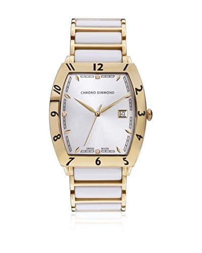 Chrono Diamond Reloj con movimiento cuarzo suizo Man 10300Dr Leandro