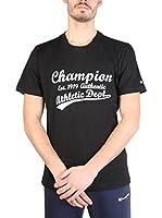 Champion Camiseta Manga Corta (Negro / Blanco)