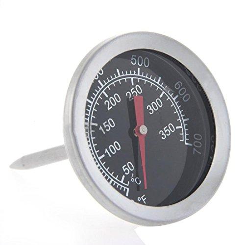Four en acier inoxydable 350°C Sonde Thermomètre de Cuisson Viande calibre Poêle à frire