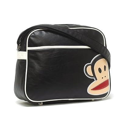 Paul Frank School Shoulder Flight Bag - Monkey Black White
