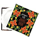 Luxurious Ginger Lily Romance Botanicals Dusting Powder With Puff