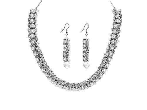 sempre-londres-plaque-argent-925-cristal-blanc-collier-avec-diamants-et-perle-etui-a-rabat-a-boucles