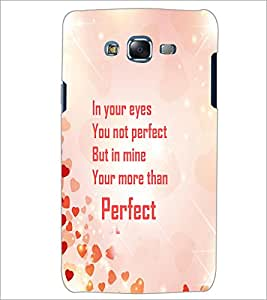 PrintDhaba Quote D-4245 Back Case Cover for SAMSUNG GALAXY ON 5 (Multi-Coloured)