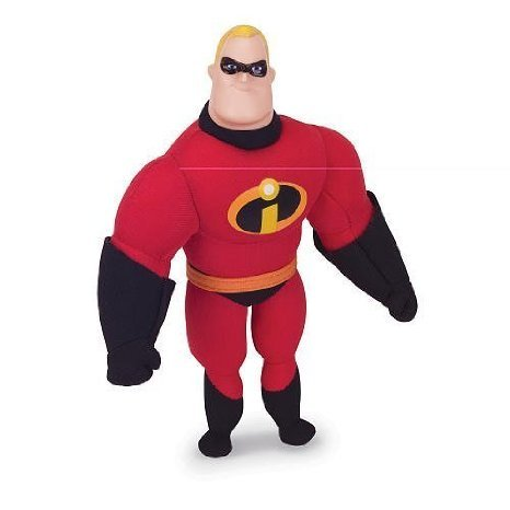 Pixar Collection Disney Buddies Mr. Incredible Plush - 1
