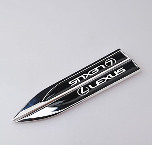mr-car-2pcs-lexus-motors-blade-decal-landmark-3d-logo-emblems-badge-car-metal-stickers