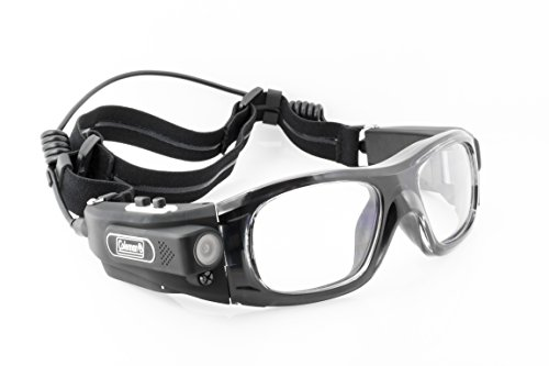 Coleman G5HD-SPORT Vision HD Wearable Sports Safety Goggles with Built-In Video Camera (Coleman Hd Goggles compare prices)