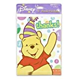 WINNIE THE POOH THANK YOU NOTES & ENVS, 8 CT