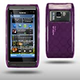 NOKIA N8 PURPLE GEL COVER CASE BY CELLAPOD CASESby CELLAPOD