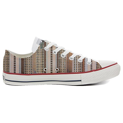 Converse All Star Hi chaussures coutume (produit artisanal) Architecture Of Density