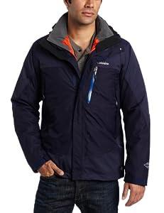 Columbia Men's Lhotse Mountain II Interchange Jacket, Ebony Blue, X-Large
