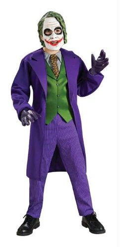 Costumes For All Occasions Ru883106Md Joker Deluxe Child Medium