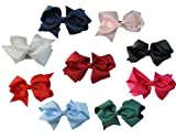 Pretty bow hairpin,Girl Headwear Bowknot Hair Clip