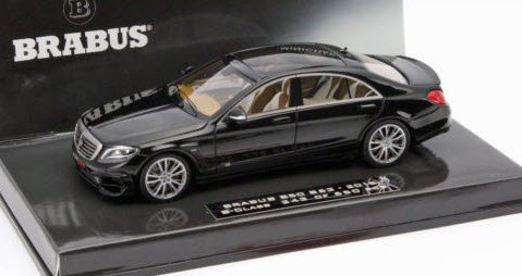 2014-brabus-850-s63-s-class-in-black-resin-model-car-in-143-scale-by-minichamps