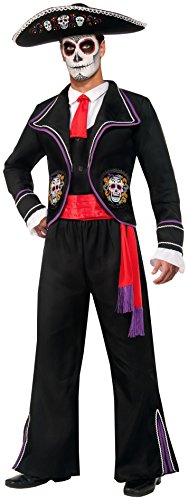 Forum Novelties Men's Day Of Dead Mariachi Macabre Costume