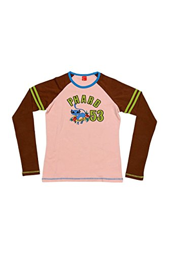 Phard Babe Jeans Maglietta a Manica Lunga BAILEY, bambina, Colore: Rosa, : 122