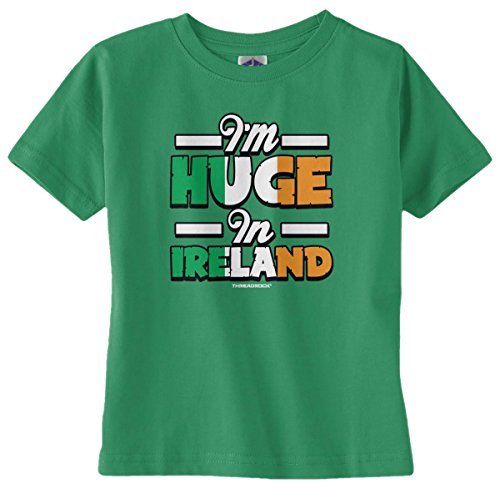 Threadrock Baby Boys' I'm Huge in Ireland Infant T-Shirt