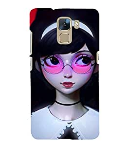 EPICCASE watching you Mobile Back Case Cover For Huawei Honor 7 (Designer Case)