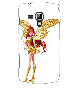 ColourCraft Angel Doll Back Case Cover for SAMSUNG GALAXY S DUOS S7562