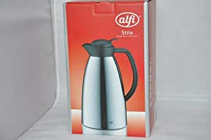 alfi isolierkanne stilo thermoskanne kaffeekanne teekanne metall verchromt 1 5 l 1212000150. Black Bedroom Furniture Sets. Home Design Ideas