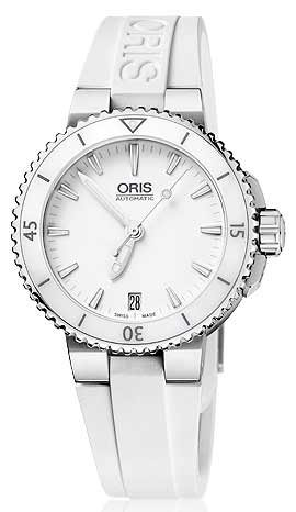 Reloj mujer R.ORIS SRA.DIVERS 36MM.BIS.CERAM-ESF.BL. OR73376524156RS