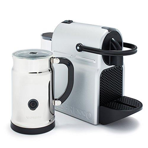 Nespresso A+D40-US-SI-NE Inissia C40 Silver Bundle, Silver (Nespresso Vertuoline Frother compare prices)