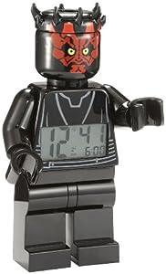 LEGO Unisex 9005596 Star Wars Darth Maul Minifigure Clock