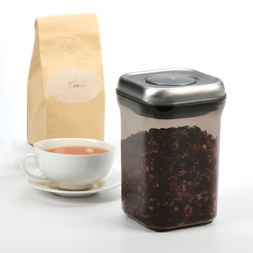 Great Features Of OXO Good Grips Tea POP Container, 0.9-Quart