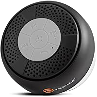 TaoTronics Bluetooth Lautsprecher Wasserdicht mit Saugnapf (Bluetooth 3.0, Freisprecheinrichtung, integriertes Mikrofon, A2DP/AVRCP)
