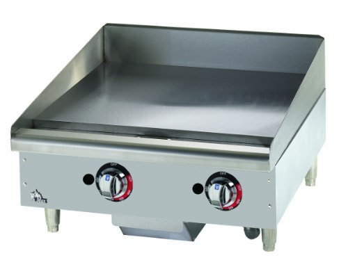 "Star - 624Tf - Star-Max 24"" Thermostatic Control Gas Griddle"