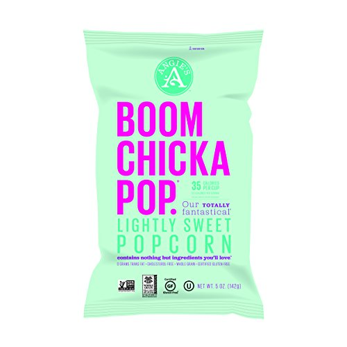 Angie's BOOMCHICKAPOP Lightly Sweet Popcorn, 5 Ounce Bag (Pack of 12) (Boom Chick A Pop Popcorn compare prices)
