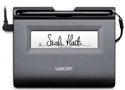 Wacom STU300SVFR Sign an Save S300 Signature électronique certifiée Gris anthracite
