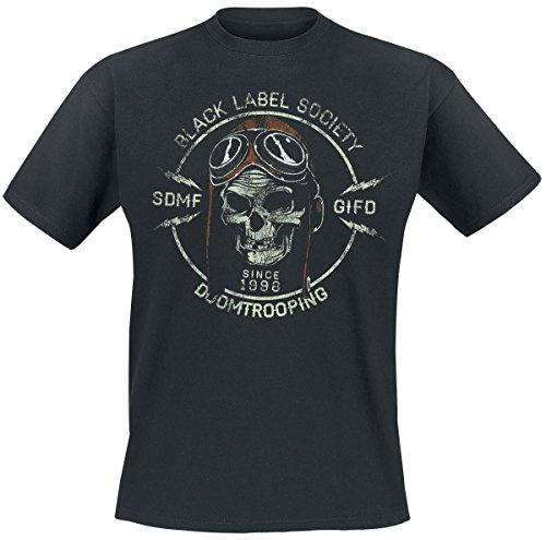 Black Label Society Doomtrooper T-Shirt nero XL