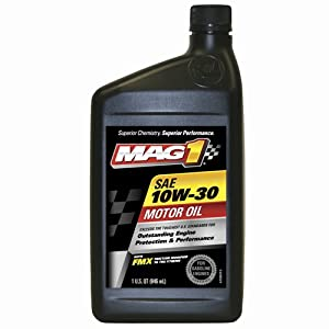 Mag 1 500 Sae 10w 30 Motor Oil 1 Quart Bottle Case Of 12