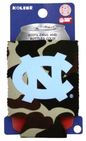 NORTH CAROLINA TAR HEELS CAMO CAN KADDY KOOZIE COOLER