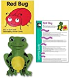 Red Bug -Hand Puppet and Board Book Set
