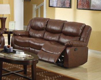 ACME 50010 Fullerton Bonded Leather Sofa - Brown
