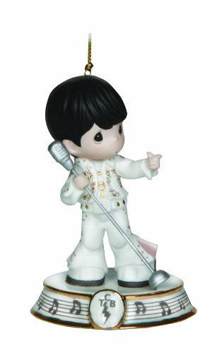 Precious Moments Elvis With Microphone Ornament
