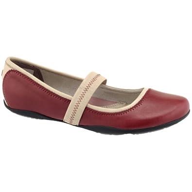 新低)暇步士女式休闲扣带芭蕾鞋 折后$53.83 Hush Puppies Kriya Mary Ballet Flat